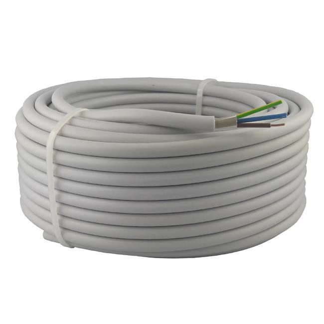 Kabel NYM-J 5x2,5 mm² 100m Ring Mantelleitung VDE Geprüft & CE