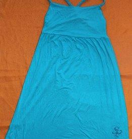 Southpole Damen trägerloses Kleid in Farbe Turkis