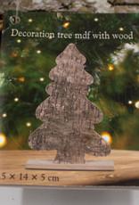 Tannenbäume Deko Holz