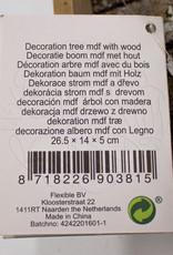 Decoration tree mdf with wood