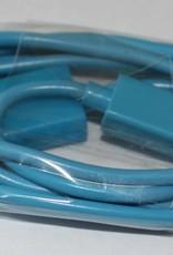 Datenkabel, Ladekabel Micro USB Anschluss 1M Baby Blau Für Samsung Handy´s & HTC