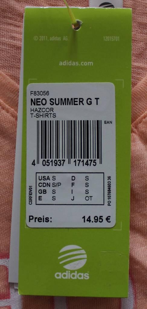 Adidas ADIDAS NEO SUMMER G T
