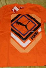 Puma PUMA Herren T-Shirt Shinjuku, Vibrant Orange, Größe S, 819347 10