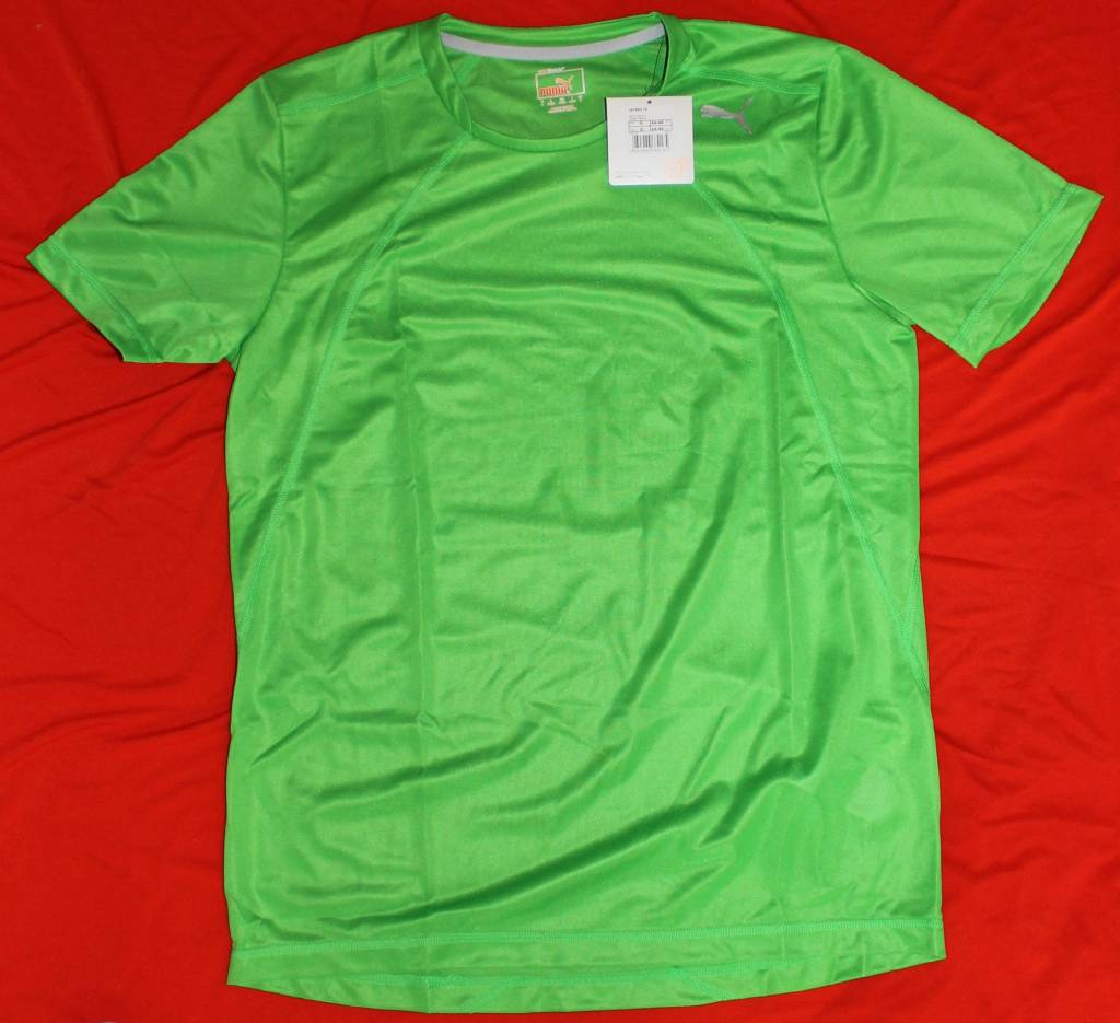 Puma PUMA Herren T-Shirt Multi Poly Tee, Classic Green, 507805 16