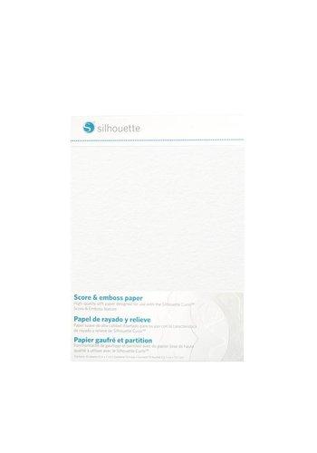 """Papier Score & Emboss (10 feuilles, 5 """"x 7"""" = 12,7 cm x 17,7 cm)"""