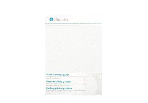 """Partitur- und Prägepapier (10 Blatt, 5 """"x 7"""" = 12,7 cm x 17,7 cm)"""