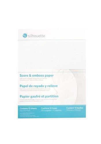 Papier à marquer et à embosser (10 feuilles, 8,5 x 11 pouces)