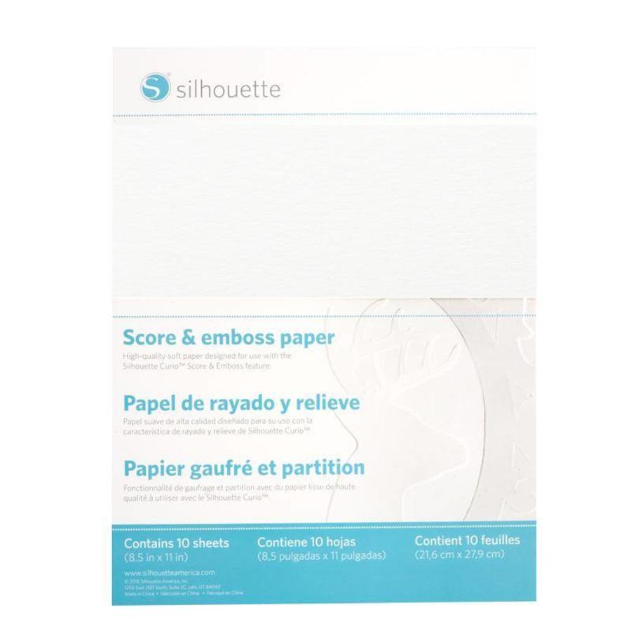 Papier à marquer et à embosser (10 feuilles, 8,5 x 11 pouces)-1