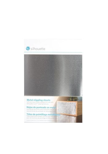 Metal stippling sheets