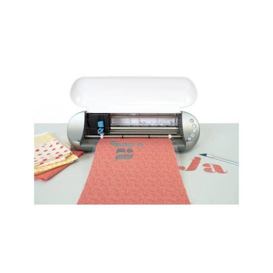Schmelzbarer Textilstabilisator (Rolle, 30,4 cm x 152,4 cm, 12 x 60 Zoll) - Sauberer Schnitt-2