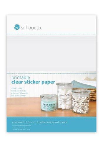 Bedruckbares klares Aufkleberpapier
