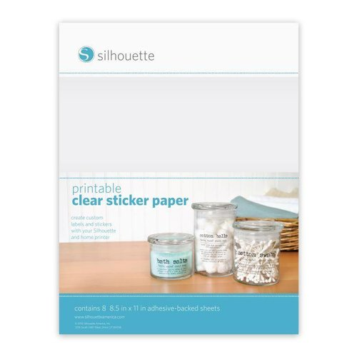 Printable Clear Sticker Paper