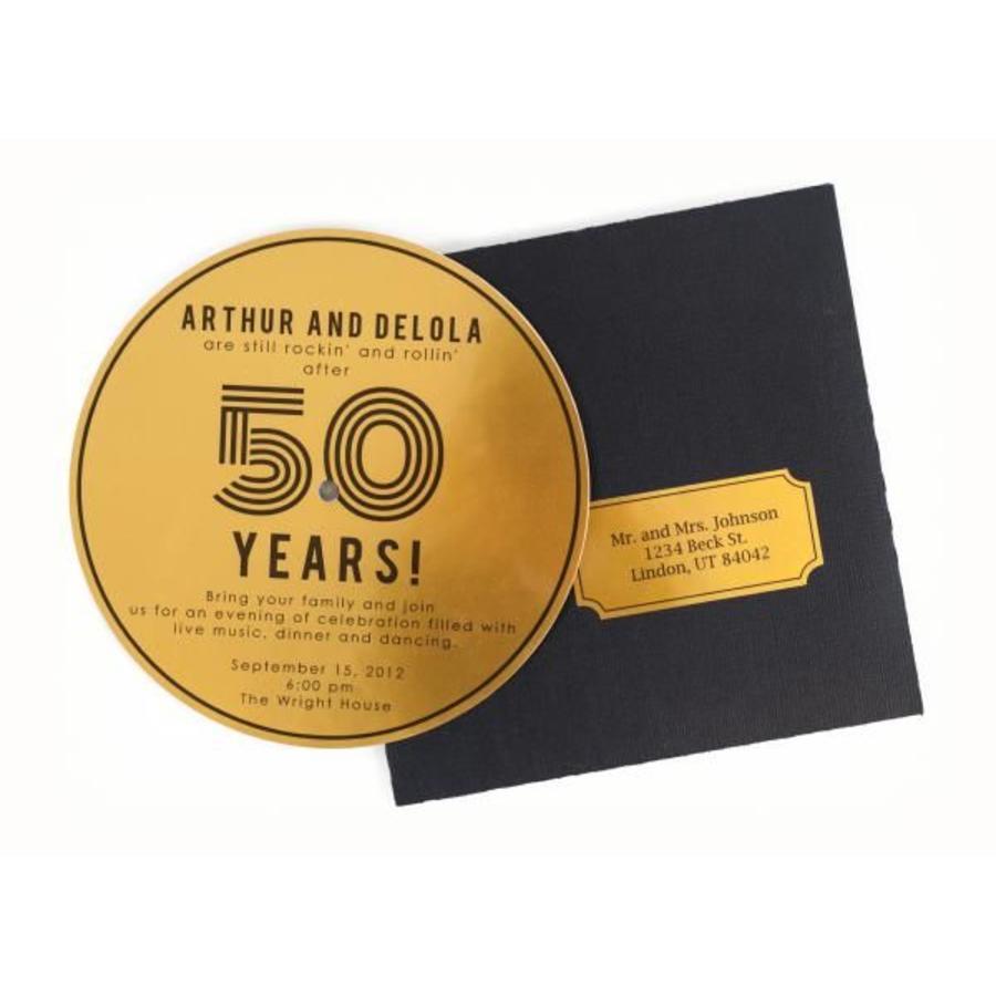 Druckbare Gold Sticker Folie-2