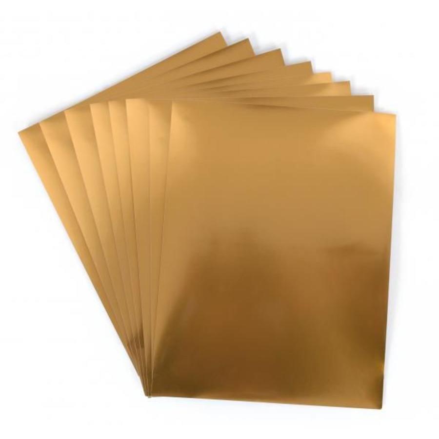 Feuille d'autocollant imprimable en or-3