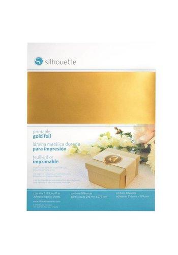 Printable Gold Sticker Foil