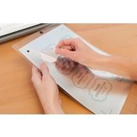 thumb-Feuille d'autocollant argent imprimable-2