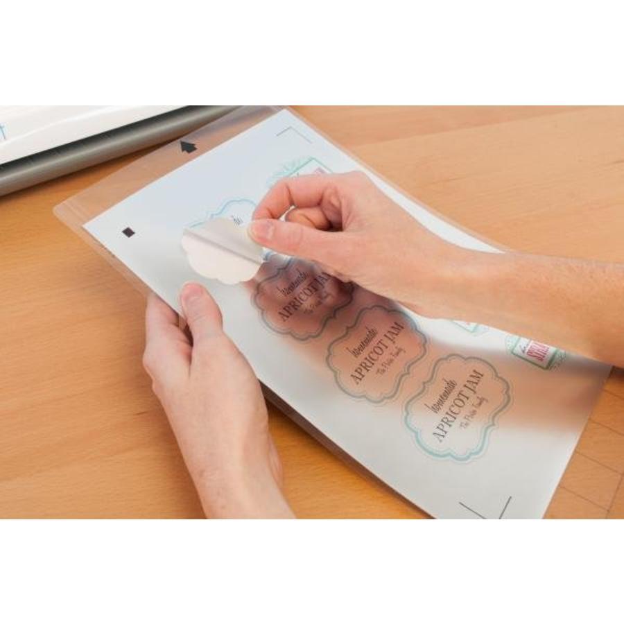Printable Silver Sticker Foil-2