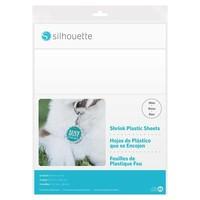 thumb-Feuilles en plastique rétractables - Blanc-1