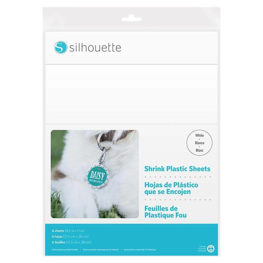Feuilles en plastique rétractables - Blanc-1