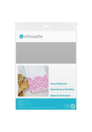 Stencil Material Sheets - Non-Adhesive (6 sheets, 21.5cm x 27.9cm)