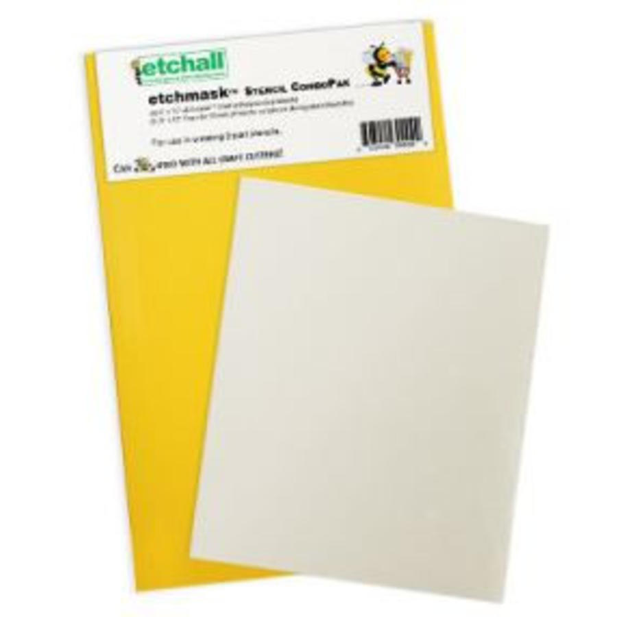 Etchall Etchmask Stencil ComboPak-1