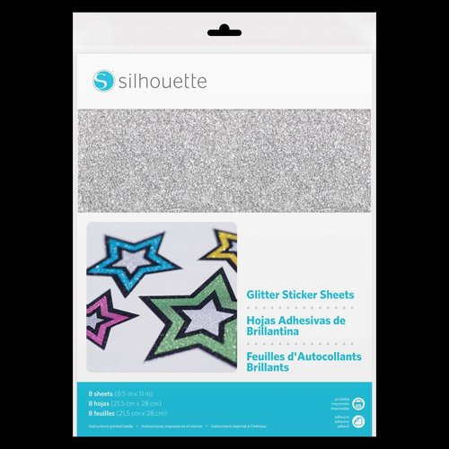 Glitter Sticker Sheets
