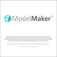 Silhouette Model Maker (code de téléchargement)