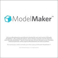 Silhouette Model Maker (Download-Code)