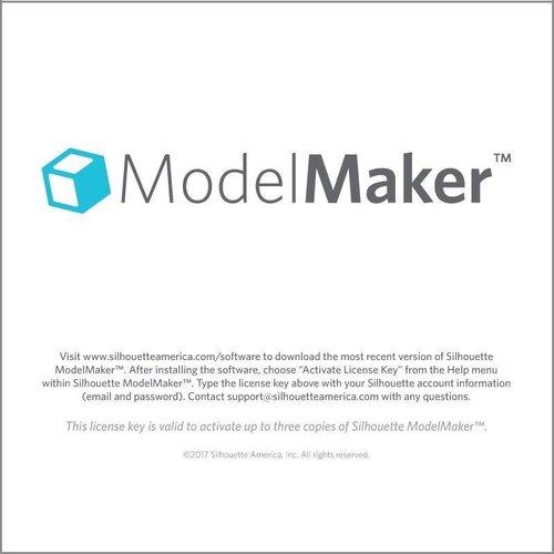 Silhouette Model Maker (download code)