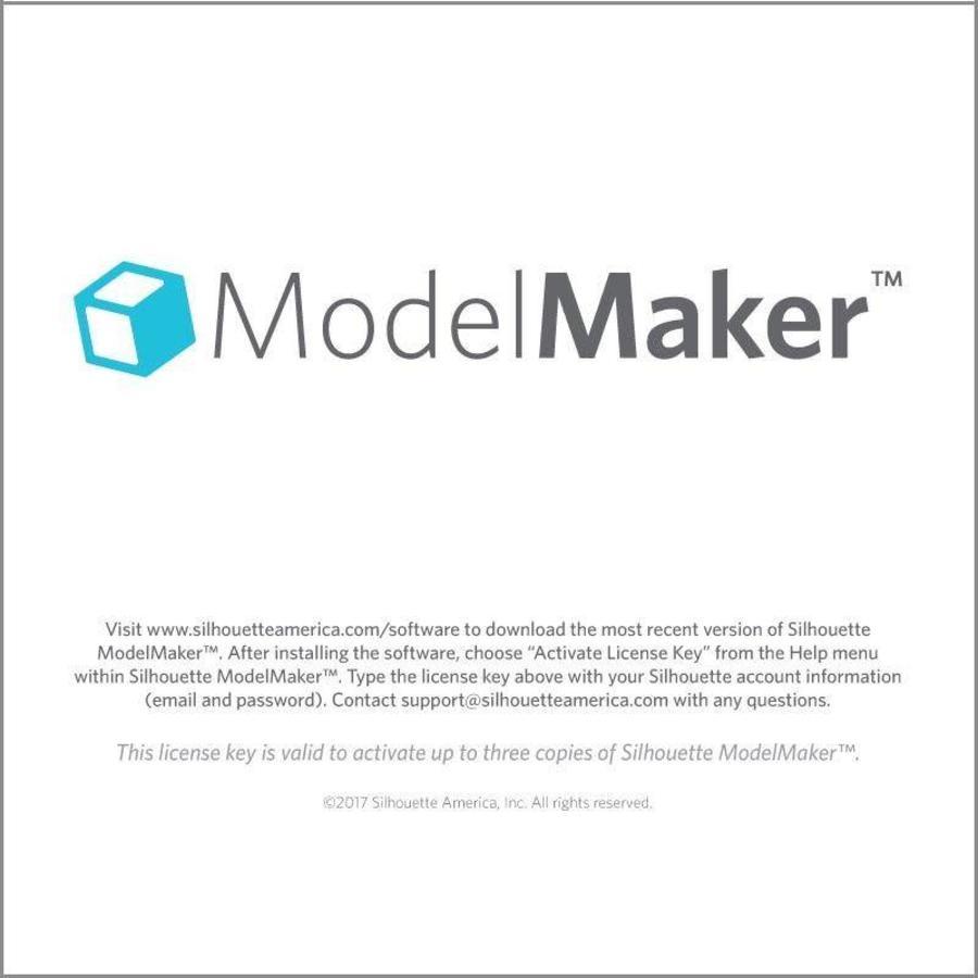 Silhouette Model Maker (code de téléchargement)-1