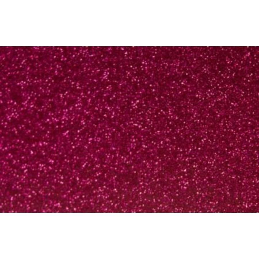 Flexfolie Glitter Hot Pink-1