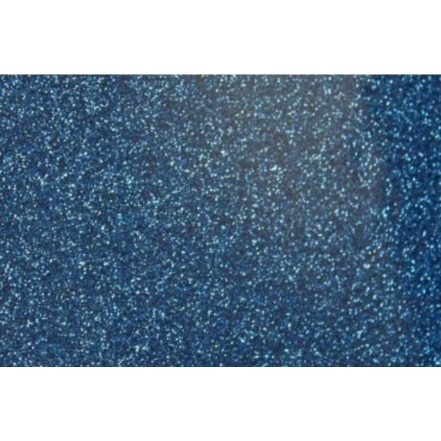 Feuille flexible Glitter Blue-1