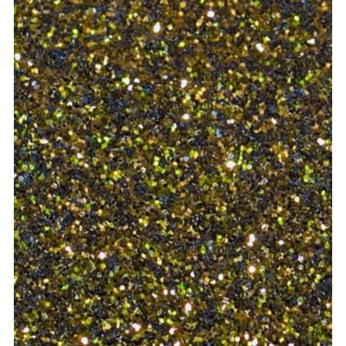 Flexfolie Glitter Schwarz-Gold