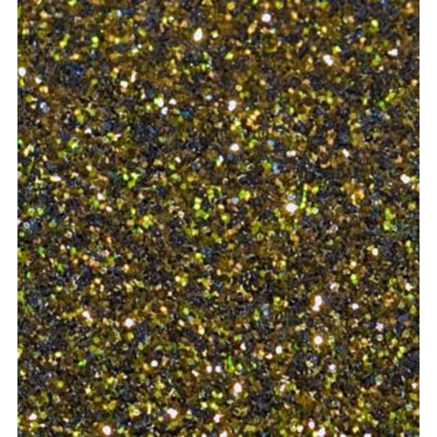 Flexfolie Glitter Schwarz-Gold-1