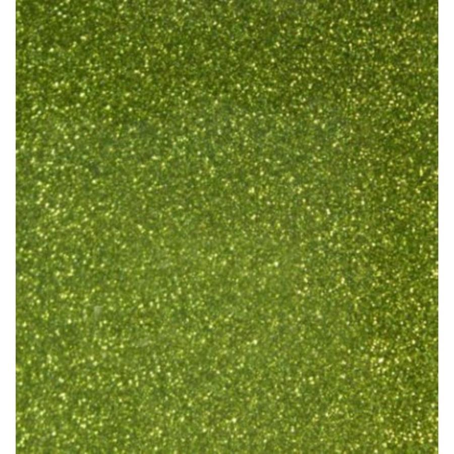 Flexfolie Glitter Hellgrün-1