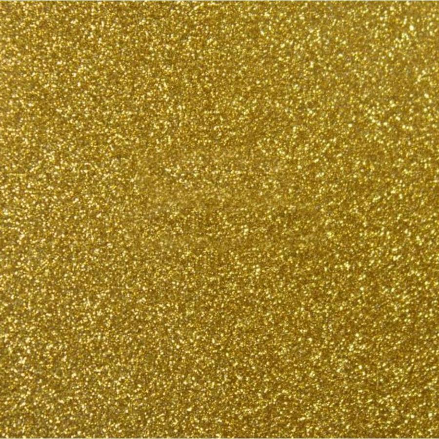Flexfolie glitter Old Gold-1