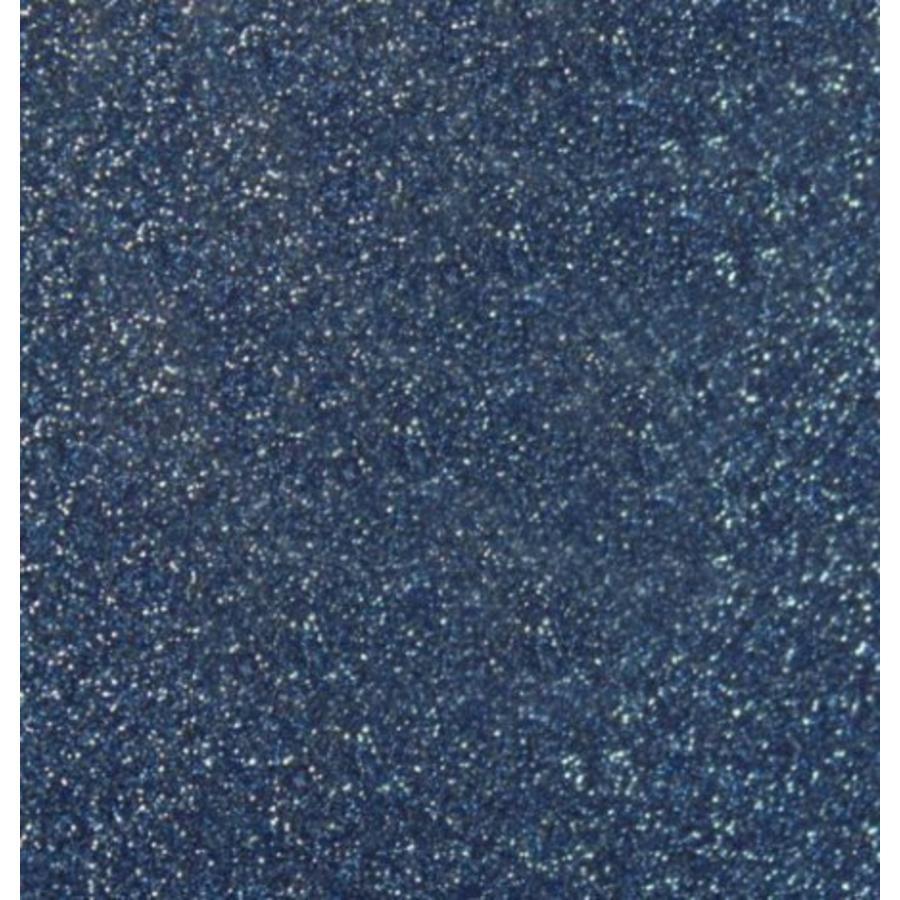 Flex foil Glitter Old Blue-1