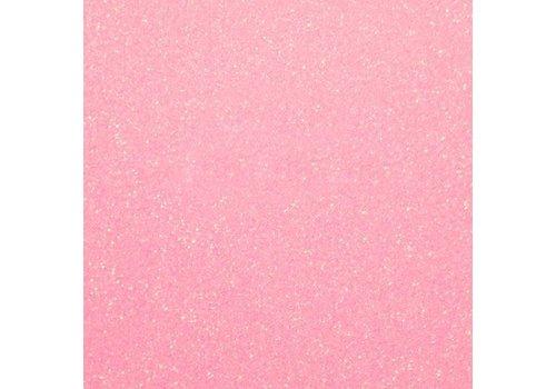 Flexfolie Glitter Neon Pink
