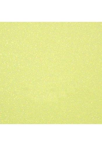 Flexfolie Glitter Neon Yellow