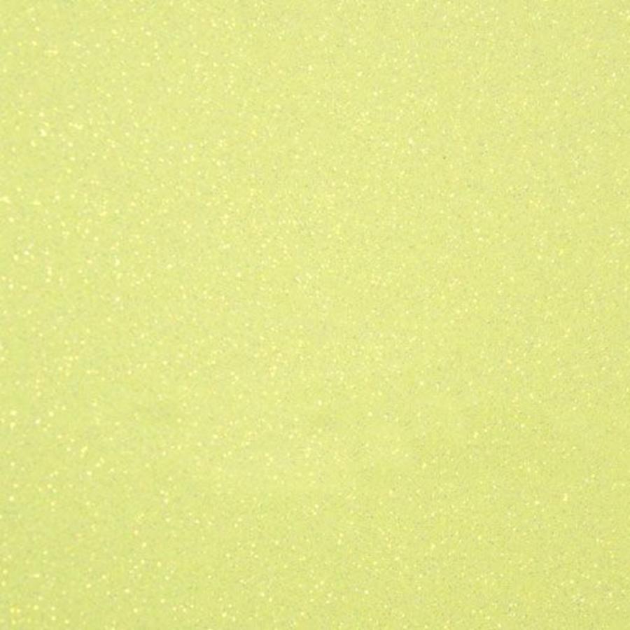 Flexfolie Glitter Neon Yellow-1