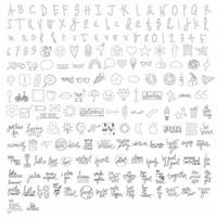 thumb-Clé USB Artwork Foill Quill: Heidi Swapp-2