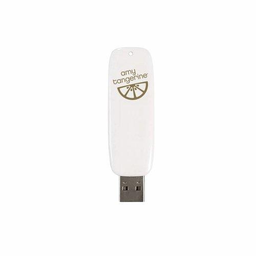 Foil Quill USB Artwork Drive: Amy Tangerine