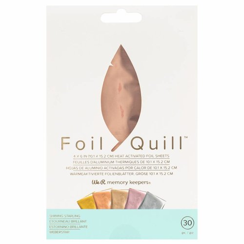 Foil Quill sheets & rolls