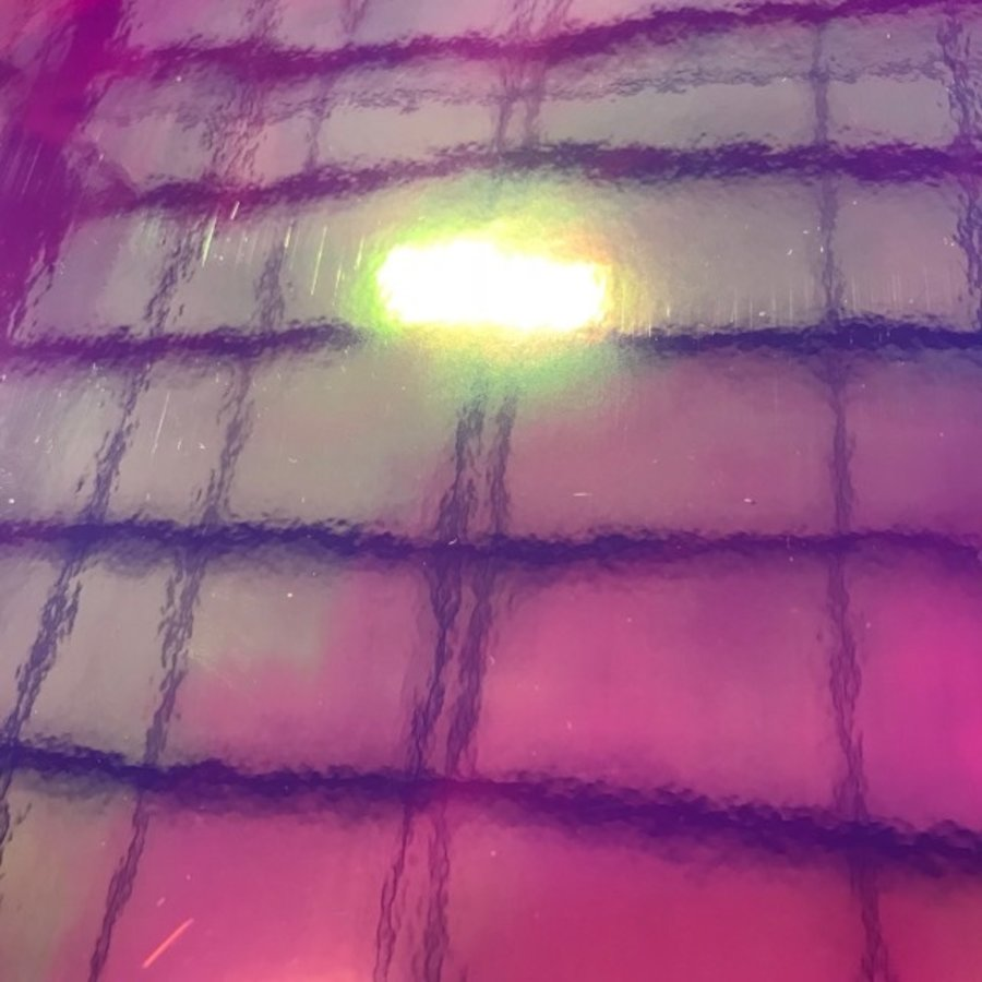 Vinyl mit holographischem Erscheinungsbild - 30 x 30 cm - Verschiedene Farben-1