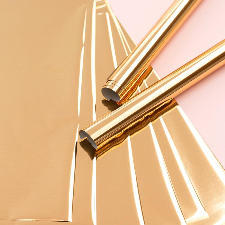 Feuilles de plume d'aluminium 12 x 12 - GOLD FINCH-2