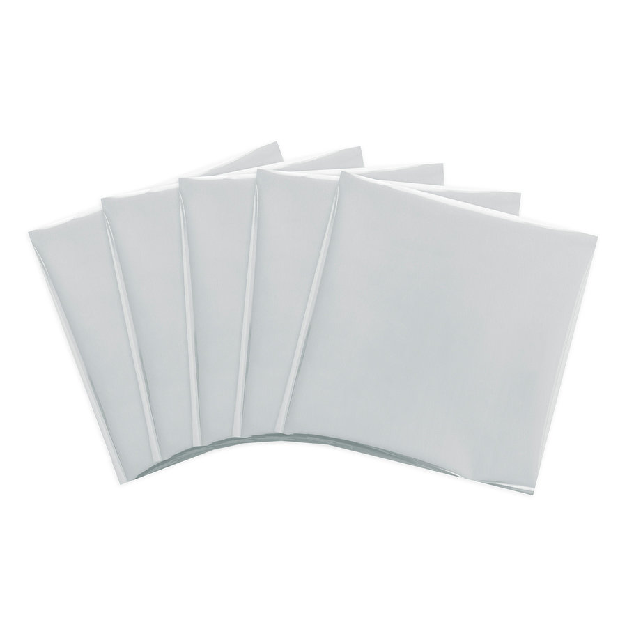 Foil Quill Sheets 12 x 12 - SILVER SWAN-2