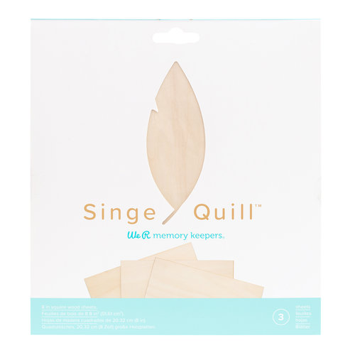 Single Quill Wood Sheets (3 PS)