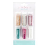 thumb-Glue Quill Glitter Multi (6cv)-1