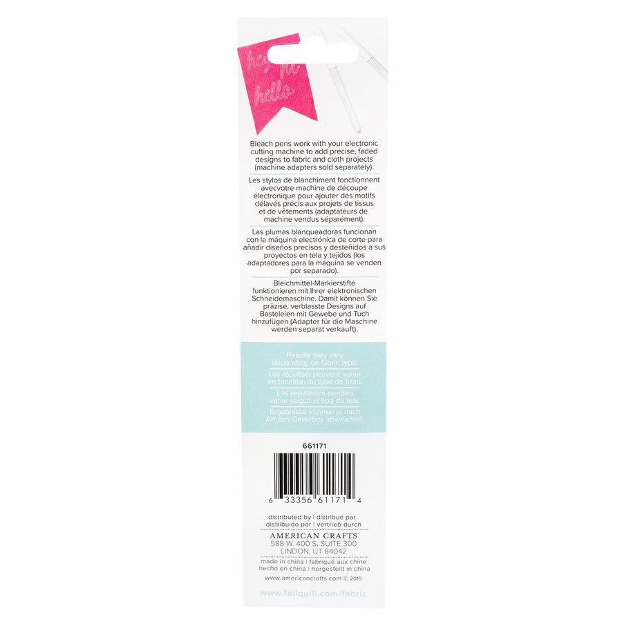 Fabric Quill Bleach Pens (2pk)-2
