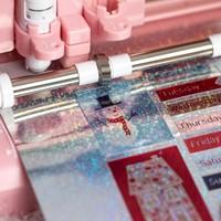 thumb-Sticker Papier - Holographische Punkte-3